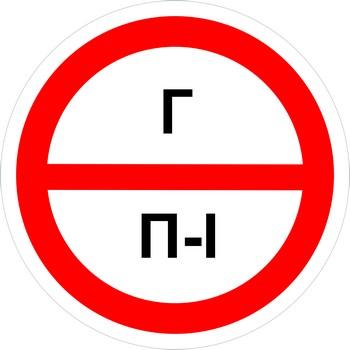 Знак категорийности помещений г-п1